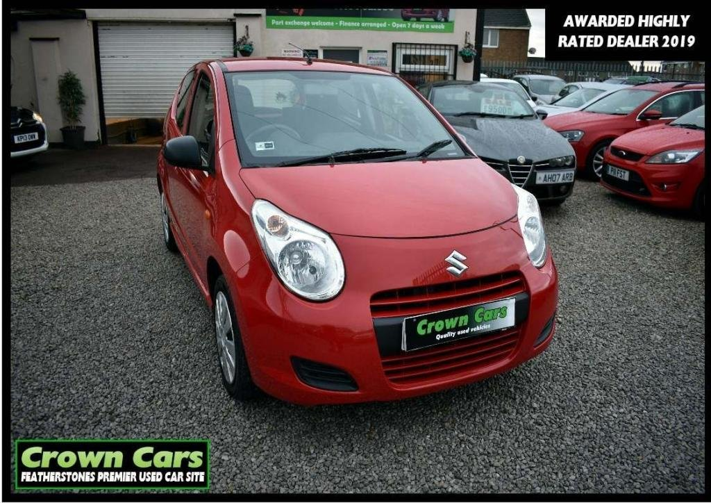USED 2014 14 SUZUKI ALTO 1.0 SZ 5dr 3 MONTH WARRANTY & PDI CHECKS