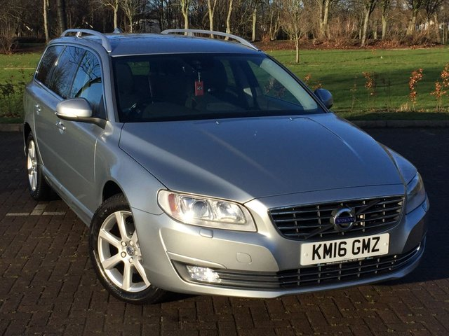 USED 2016 16 VOLVO V70 2.0 D3 SE LUX 5d 148 BHP