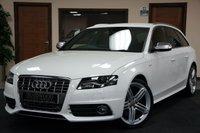 2010 AUDI A4 3.0 S4 AVANT QUATTRO 5d 329 BHP £13000.00