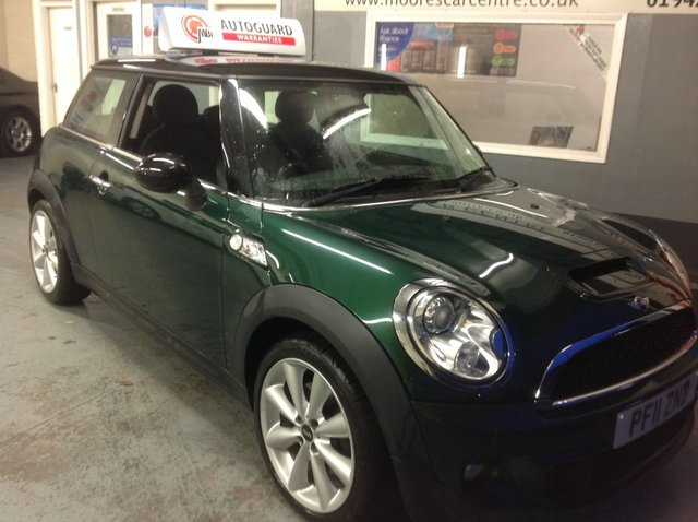 2011 11 MINI HATCH COOPER 1.6 COOPER S 3d 184 BHP