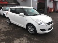 2013 SUZUKI SWIFT 1.2L SZ3 5d 94 BHP SOLD