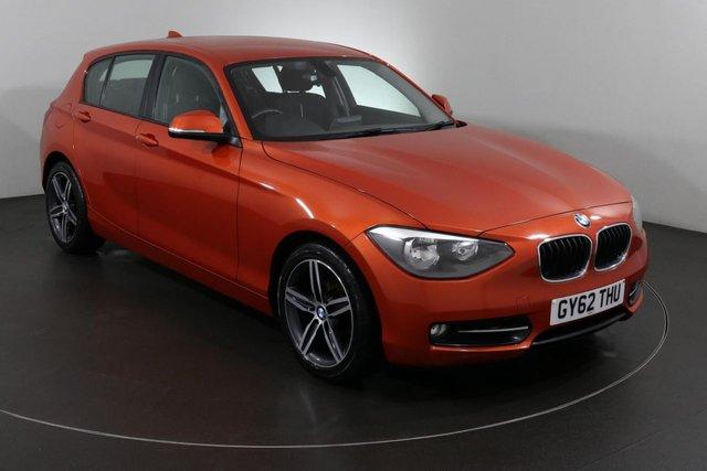 2012 62 BMW 1 SERIES 1.6 114I SPORT 5d 101 BHP ULEZ EXEMPT