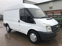 USED 2007 56 FORD TRANSIT T330 110PS SWB SEMI HIGH ROOF **NO VAT**