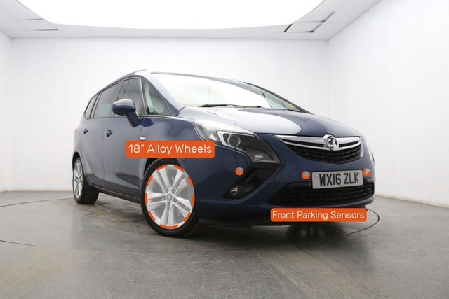 VAUXHALL ZAFIRA TOURER at Georgesons