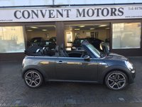USED 2010 60 MINI CONVERTIBLE 1.6 COOPER S 2d 184 BHP