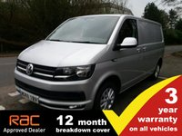 USED 2018 68 VOLKSWAGEN TRANSPORTER T28 SWB Highline 102ps (Tailgate) Highline Tailgate 102ps 3 yr Warranty