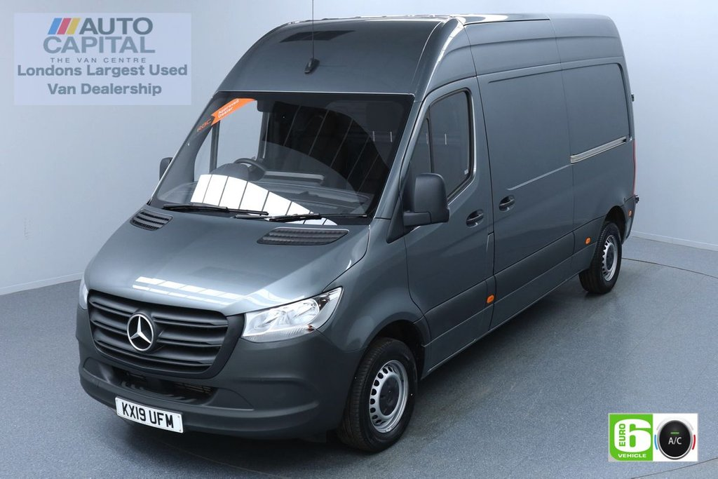 USED 2019 19 MERCEDES-BENZ SPRINTER 2.1 314 CDI 141 BHP L2 H2 MWB Euro 6 Low Emission Finance Packages Available | Keyless Go | Air Con | Active Brake Assist | Touch Screen