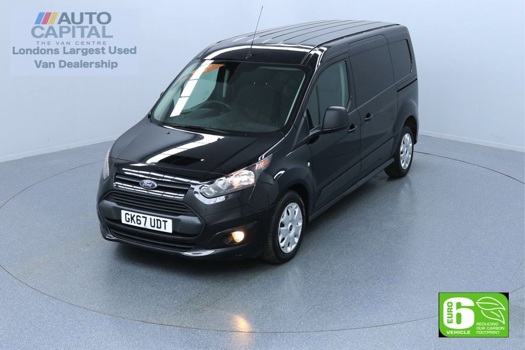 USED 2017 67 FORD TRANSIT CONNECT 1.5 240 TREND 100 BHP LWB EURO 6 ENGINE VOICE CONTROL, HEATED FRONT SCREEN