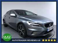 USED 2017 17 VOLVO V40 2.0 D3 R-DESIGN PRO 5d AUTO 148 BHP FULL HISTORY - 1 OWNER - SAT NAV - PAN ROOF - PARKING SENSORS - CAMERA - LEATHER - AIR CON - BLUETOOTH - DAB RADIO