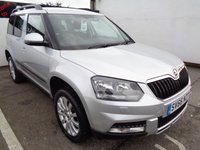 USED 2016 66 SKODA YETI 2.0 OUTDOOR SE BUSINESS TDI SCR 5d 148 BHP 4x4 awd 4wd Satellite navigation full service history  parking sensors privacy glass climate control 2 keys alloy wheels