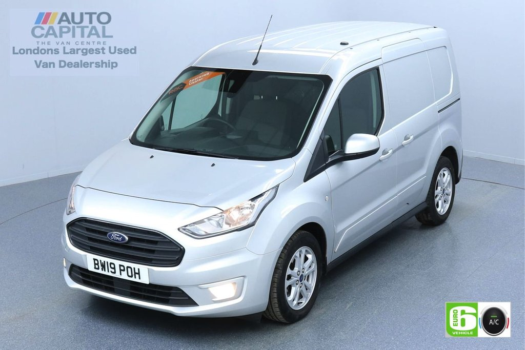 USED 2019 19 FORD TRANSIT CONNECT 1.5 200 LIMITED TDCI 120 BHP L1 SWB EURO 6 ENGINE KEYLESS | AIR CON | PARKING SENSORS | ALLOY WHEELS