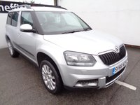 USED 2016 66 SKODA YETI 2.0 OUTDOOR SE BUSINESS TDI SCR 5d 148 BHP 4x4 awd 4wd Satellite navigation parking sensors privacy glass full service history alloy wheels popular 4x4 in sought after colour