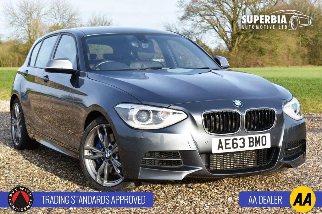 USED 2013 63 BMW 1 SERIES 3.0 M135I 5d 316 BHP