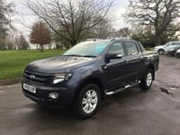 USED 2015 65 FORD RANGER 3.2 WILDTRAK 4X4 DCB TDCI 4d 197 BHP