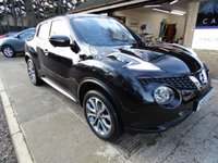 USED 2016 65 NISSAN JUKE 1.5 TEKNA DCI 5d 110 BHP * PARKING CAMERA * HEATED SEATS * SAT-NAV * £20 ROAD TAX * 70 MPG * £0 DEPOSIT FINANCE *