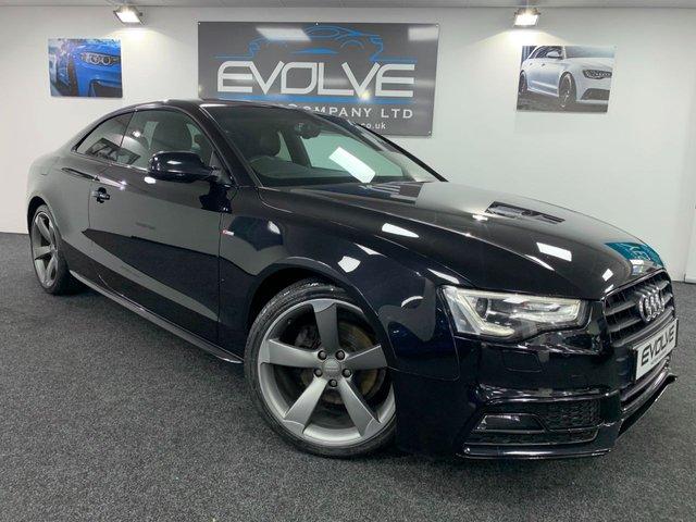 2013 63 AUDI A5 2.0 TDI BLACK EDITION 2d 177 BHP