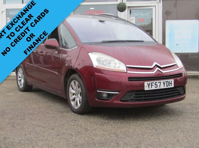 2008 57 CITROEN C4 GRAND PICASSO 2.0 EXCLUSIVE HDI EGS 5d 135 BHP