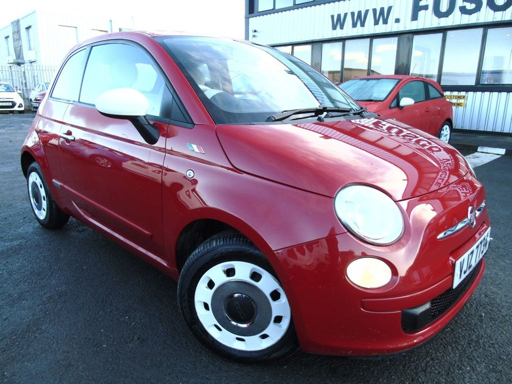 USED 2014 FIAT 500 1.2 COLOUR THERAPY 3d 69 BHP £96 a month, T&Cs apply.