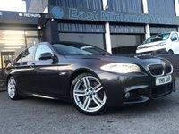 2011 BMW 5 SERIES 3.0 525D M SPORT 4d AUTO 202 BHP £10750.00