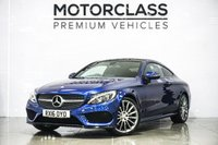 USED 2016 16 MERCEDES-BENZ C CLASS 2.1 C 220 D AMG LINE PREMIUM 2d 168 BHP
