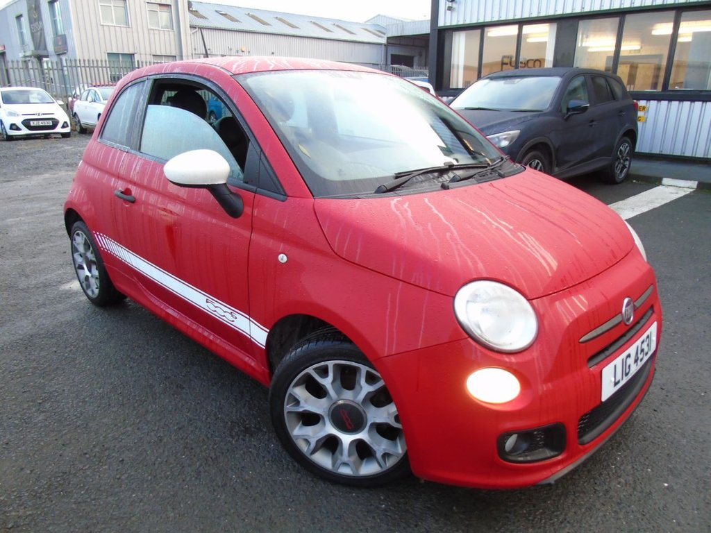 USED 2013 FIAT 500 1.2 S 3d 69 BHP £96 a month, T&Cs apply.