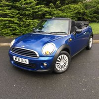 USED 2011 61 MINI CONVERTIBLE 1.6 ONE 2d 98 BHP A STUNNING EXAMPLE NOT TO BE MISSED!