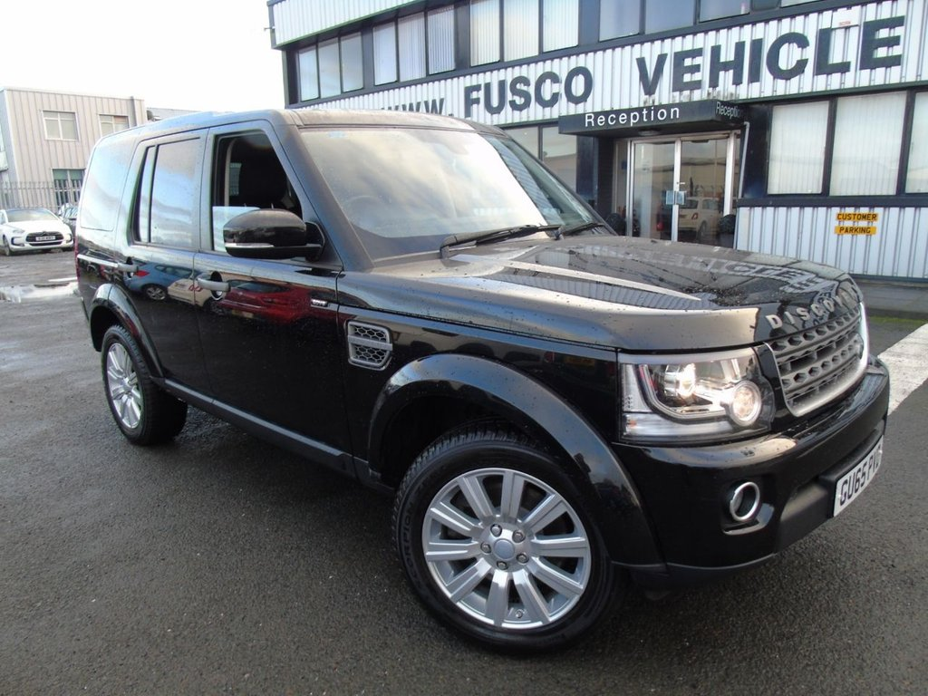 USED 2015 65 LAND ROVER DISCOVERY 3.0 SDV6 SE 5d 255 BHP £370 a month, T&Cs apply.
