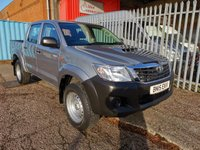 USED 2015 15 TOYOTA HI-LUX 2.5 D-4D ACTIVE 4x4 Double Cab Pickup 144 *NO VAT*LOW MILES* ONLY 34000 MILES - AIR CON - NO VAT TO PAY