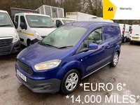 2016 FORD TRANSIT COURIER *EURO 6* 1.5 TREND TDCI *SIDE LOADING DOOR*14,000 MILES* £6995.00