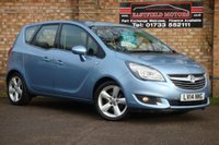 USED 2014 14 VAUXHALL MERIVA 1.4 TECH LINE 5d [1/2 LEATHER+PARK-ASSIST]