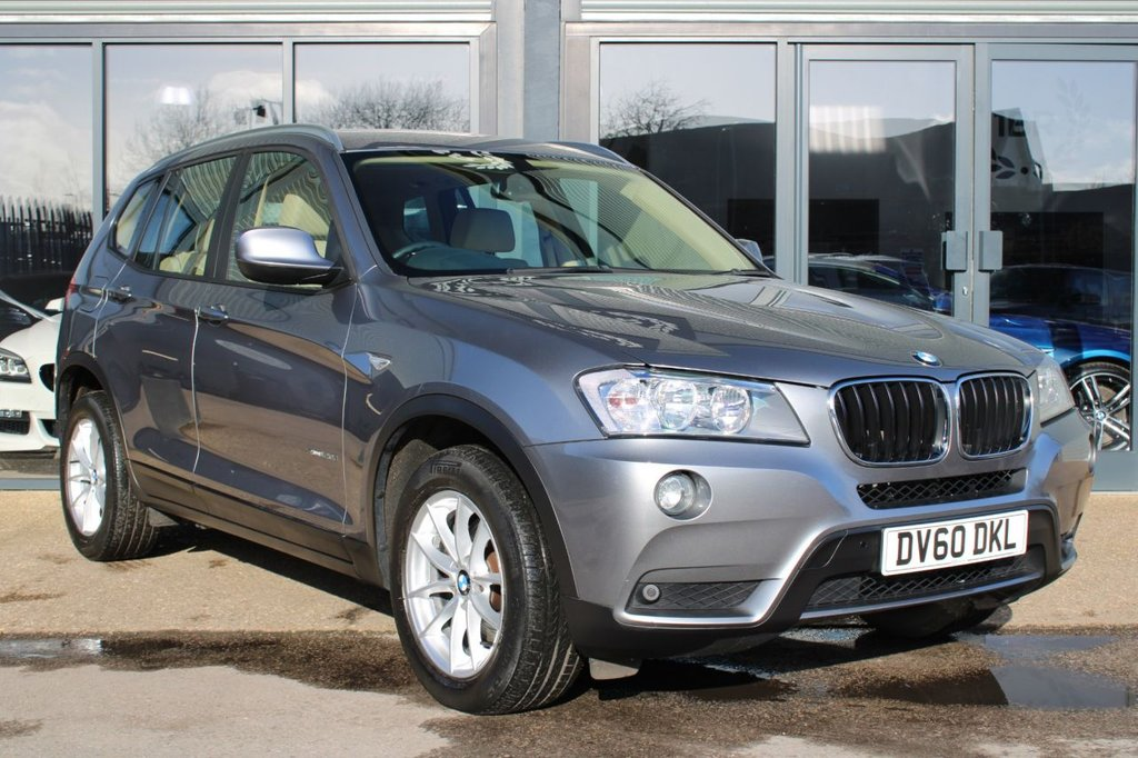 USED 2010 60 BMW X3 2.0 XDRIVE20D SE 5d 181 BHP