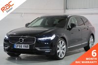USED 2016 66 VOLVO V90 2.0 D4 INSCRIPTION AUTO 5d 188 BHP  SATELLITE NAVIGATION, ELECTRIC TAILGATE, HEATED BLACK LEATHER