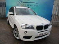 USED 2011 61 BMW X3 2.0 XDRIVE20D M SPORT 5d 181 BHP