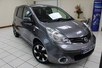 2013 NISSAN NOTE 1.4 N-TEC PLUS 5d 88 BHP £5995.00
