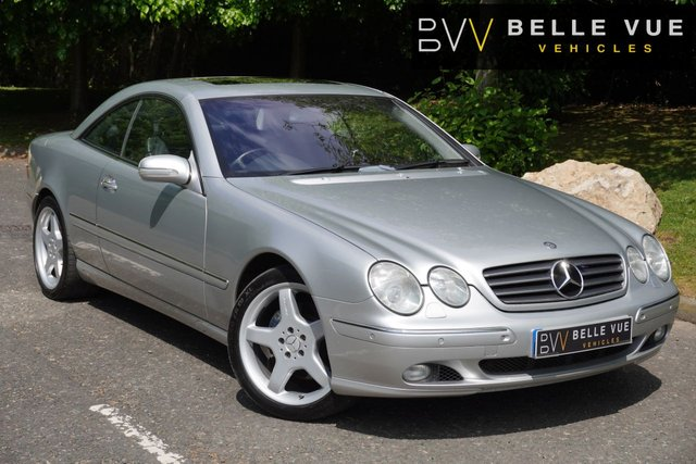 USED 2002 52 MERCEDES-BENZ CL 5.0 CL 500 2d 302 BHP *19'' AMG ALLOYS, SOFT CLOSE DOORS, STUNNING CAR!*