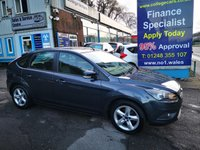 USED 2010 10 FORD FOCUS 1.6 ZETEC TDCI 5d 109 BHP, 87000 miles ***APPROVED DEALER FOR CAR FINANCE247 AND ZUTO ***