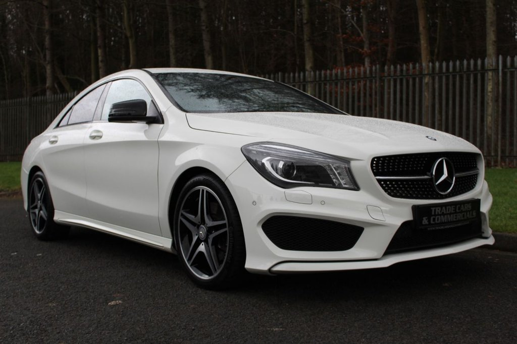 USED 2014 14 MERCEDES-BENZ CLA 2.1 CLA220 CDI AMG SPORT 4d AUTO 170 BHP A STUNNING ONE OWNER CAR WITH MERCEDES SERVICE HISTORY!!!