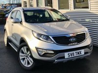 USED 2011 11 KIA SPORTAGE 2.0 FIRST EDITION 5d 160 BHP