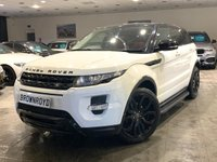 USED 2013 63 LAND ROVER RANGE ROVER EVOQUE 2.2 SD4 DYNAMIC 5d 190 BHP ++PANROOF+CAMERA+DYNAMIC+FSH++