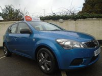 USED 2010 10 KIA CEED 1.4 STRIKE 5d 89 BHP GUARANTEED TO BEAT ANY 'WE BUY ANY CAR' VALUATION ON YOUR PART EXCHANGE