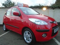 USED 2010 10 HYUNDAI I10 1.2 COMFORT 5d 77 BHP GUARANTEED TO BEAT ANY 'WE BUY ANY CAR' VALUATION ON YOUR PART EXCHANGE