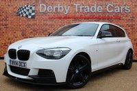 2014 BMW 1 SERIES 2.0 116D M SPORT 3d 114 BHP £9500.00