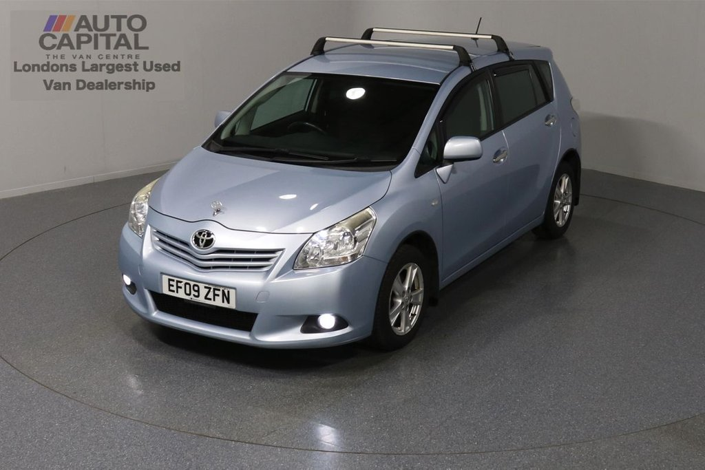 USED 2009 09 TOYOTA VERSO 2.0 TR D-4D 125 BHP AIR CON AIR CON, ALLOY WHEELS, ROOF RACKS FITTED, REAR TOW FITTED
