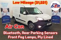 2016 FIAT DOBLO 1.3 16V SX MULTIJET 90 BHP with Low Mileage (21,221), Air Conditioning, Bluetooth, Rear Parking Sensors, Ply Lined, Front Fog Lamps and more £5680.00