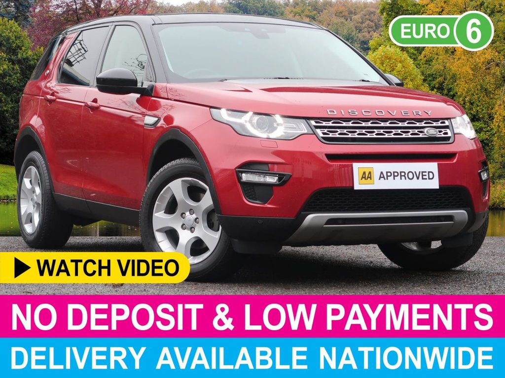 USED 2016 65 LAND ROVER DISCOVERY SPORT 2.0 TD4 HSE 4WD 5DR NAV GLASS ROOF CLIMATE NAV LEATHER PAN ROOF