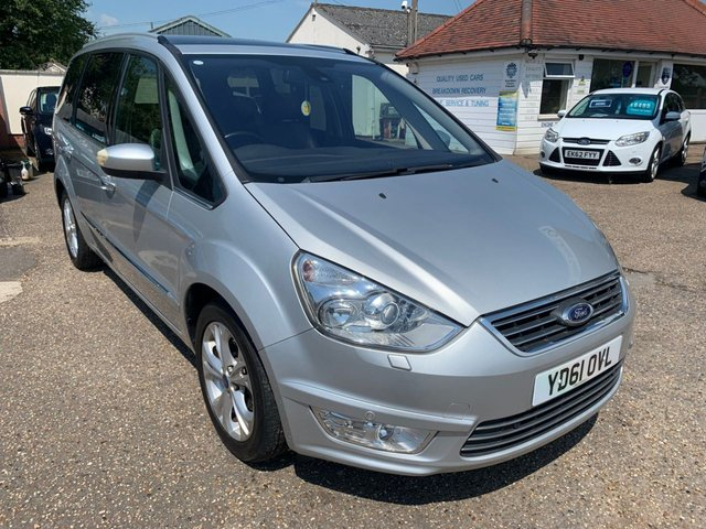 USED 2011 61 FORD GALAXY 2.0 TITANIUM X TDCI 5d 161 BHP PANORAMIC ROOF / FULL LEATHER