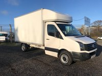 USED 2016 16 VOLKSWAGEN CRAFTER CR35 2.0 TDI 136 LWB LUTON WITH TAIL LIFT