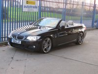 2011 BMW 3 SERIES 3.0 330D M SPORT 2dr Convertible Sat nav Leather Electric headed seats Cruise Alloys £11000.00