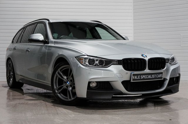 2013 63 BMW 3 SERIES 2.0 320I M SPORT TOURING (PRO SAT NAV / PAN ROOF)