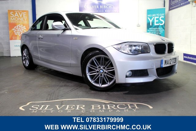 USED 2012 12 BMW 1 SERIES 2.0 118D M SPORT 2d 141 BHP Low Deposit Finance Available